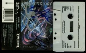 Crimson Glory Transcendence Holland cass autographed