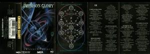Crimson Glory Transcendence MCA cass inlay