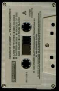 Crimson Glory Transcendence Malaysia cass 2 tape side 1jpg