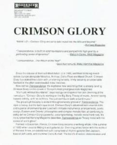 crimsonglorytranscendenceroadracerpresskitletter