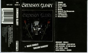 Crimson Glory Crimson Glory Holland Cassette inlay