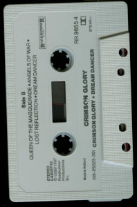 Crimson Glory Crimson Glory Holland Cassette tape side 2