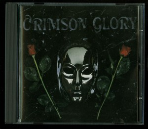 Crimson Glory Crimson Glory Holland first press disc made in Japan