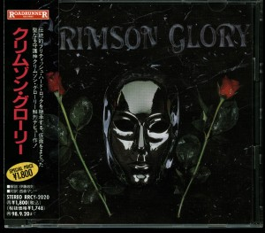 Crimson Glory Crimson Glory Japan Cd Roadrunner Records _– RRCY-2020