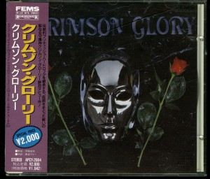 Crimson Glory Crimson Glory Japan PROMO Cd Far East Metal Syndicate – APCY-2004