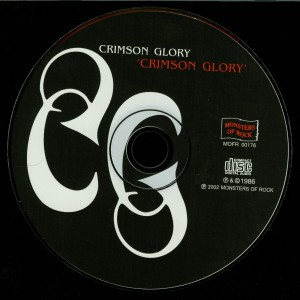 Crimson Glory Crimson Glory Russia Cd Monsters Of Rock disc