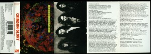 Crimson Glory Strange And Beautiful  Canada Cassette inlay