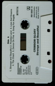 Crimson Glory Strange And Beautiful Holland Cassette tapes side 1