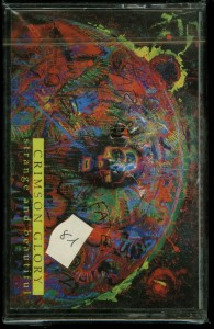 Crimson Glory Strange And Beautiful Holland cass sealed