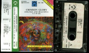 Crimson Glory Strange And Beautiful Poland cass
