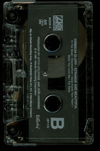 Crimson Glory Strange And Beautiful USA promo cassette  tape side 2