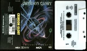 Crimson Glory Transcendence MCA promo cass