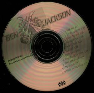 Ben Jackson Here I Come disc