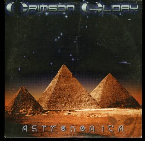 Crimson Glory Astronomica Rising Sun Promo Cd