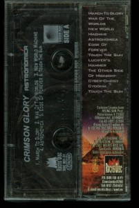 Crimson Glory Astronomica Romania cass back