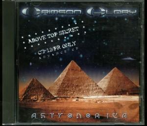 Crimson Glory Astronomica promo CD