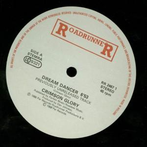 Crimson Glory Dream Dancer 12 inch label side 1