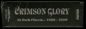 Crimson Glory In Dark Places Box Set spine