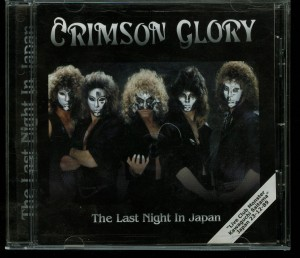 Crimson Glory Last Night In Japan Cd