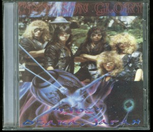 Crimson Glory Live Osaka Japan Cd