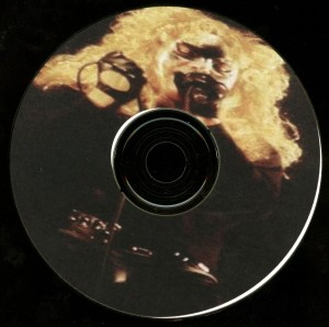 Crimson Glory Live Osaka Japan Cd disc