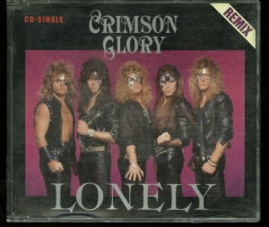 Crimson Glory Lonely Cd Single