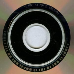 Crimson Glory Promise Land Promo Cd single matrix