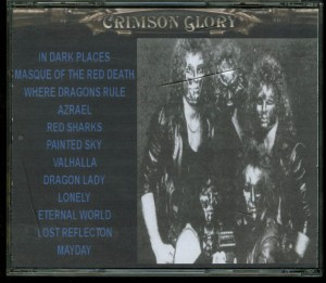 Crimson Glory Sloans Liverpool Cd back