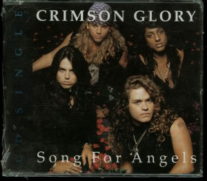 Crimson Glory Song For Angels Cd single