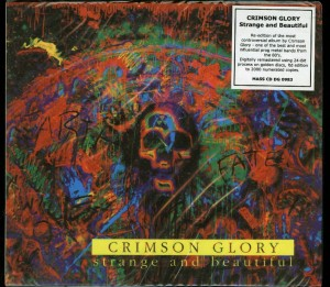 Crimson Glory Strange And Beautiful Poland CD