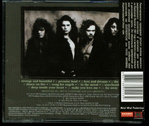 Crimson Glory Strange And Beautiful Russia CD back
