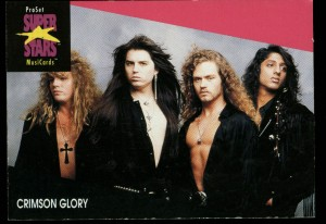 Crimson Glory Trading card