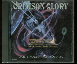 Crimson Glory Transcendence Israel promo Cd