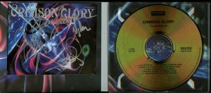 Crimson Glory Transcendence Poland Cd signed copy