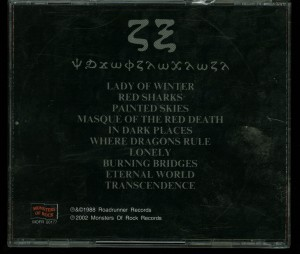 Crimson Glory Transcendence Russia Cd back (2)