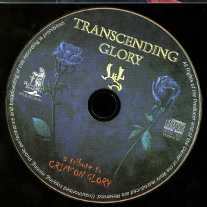 Crimson Glory Tribute Transcending Glory by Wild Steel disc