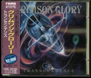 Crimson Glory _Transcendence Japan Cd Far East Metal Syndicate APCY-2005