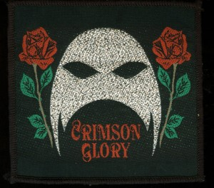 Crimson Glory patch