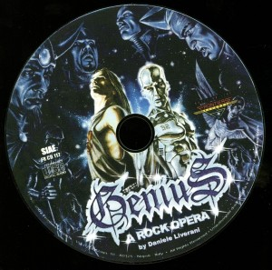 Genius A Rock Opera Episode 1 disc