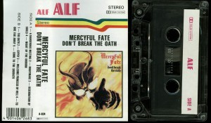 Mercyful Fate Dont Break The Oath Alf Cassette