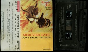 Mercyful Fate Dont Break The Oath Attic Black Tape