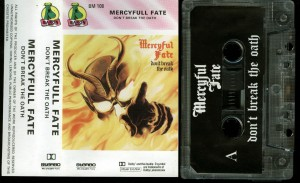 Mercyful Fate Dont Break The Oath Baron Cassette