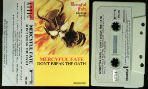 Mercyful Fate Dont Break The Oath Cassette Attic Canada