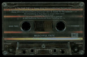 Mercyful Fate Dont Break The Oath Cassette Roadrunner Records tape side 2