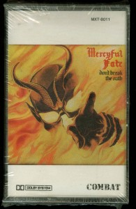 Mercyful Fate Dont Break The Oath Combat ClearTape sealed
