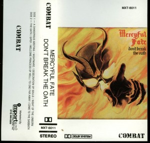 Mercyful Fate Dont Break The Oath Combat White Tape