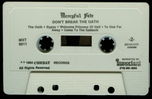 Mercyful Fate Dont Break The Oath Combat White Tape side 2