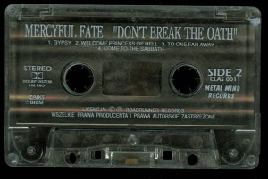 Mercyful Fate Dont Break The Oath Metal Mind tape side 2