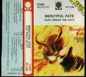 Mercyful Fate Dont Break The Oath RC Poland Cassette