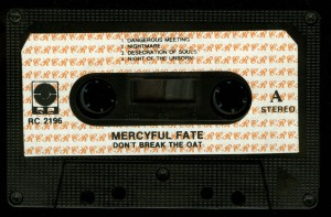 Mercyful Fate Dont Break The Oath RC Poland Cassette side 1